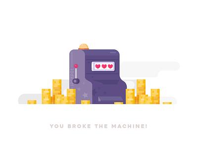 You Broke The Machine gamble win money solid vector machine