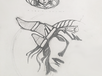 Alexstrasza badge sketching