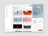 Furniture Website Exploration ui listing furniture website search dropdown checkout user interface interface website furniture store landing page furniture