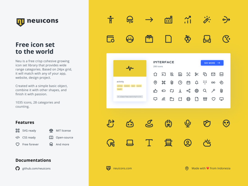 Neu Icons icon design iconography user interface ui svg icons neuicons free free icon set icon set icons