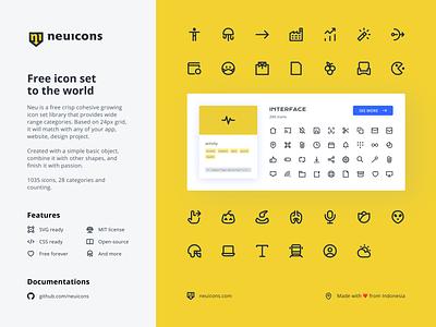 Neu Icons icon design iconography user interface ui svg icons neuicons free free icon set icon set icons