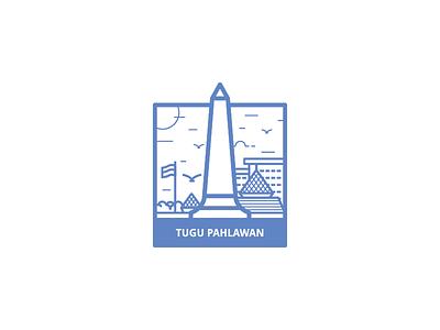 Tugu Pahlawan Landmark indonesia surabaya icon landmark heroes pahlawan tugu