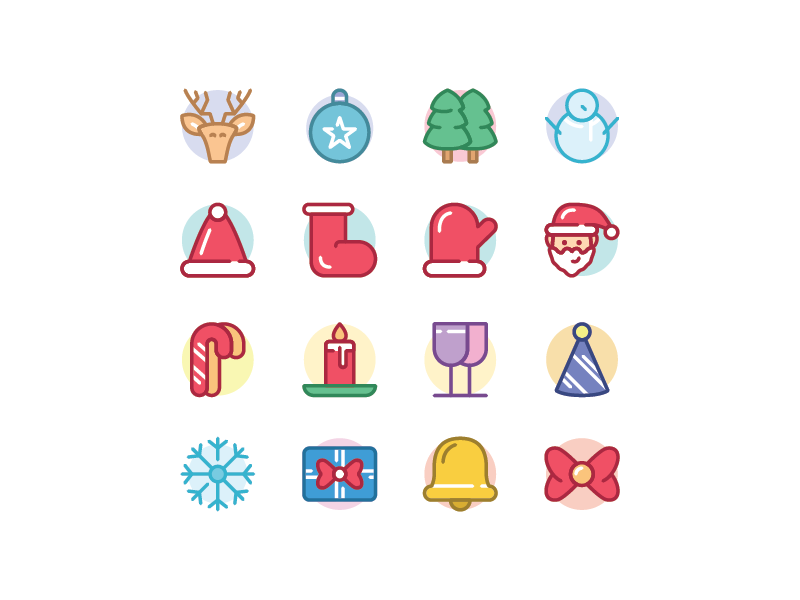 hi guys i made a new icon set product again now with christmas theme hope you guys like it if you curious and want to buy what i did - What Do Guys Like For Christmas
