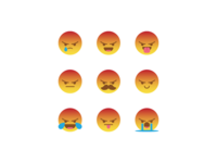 Silly angry react combination