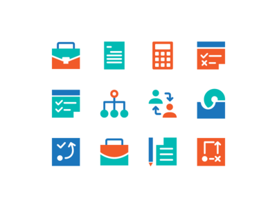 Business Icons icons design icons plan strategy suitcase employee marketing business icons finance business icon icon set icon