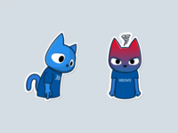 Xeovo telegram stickers