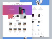 Bouncer Ecommerce Adobe XD UI Kit