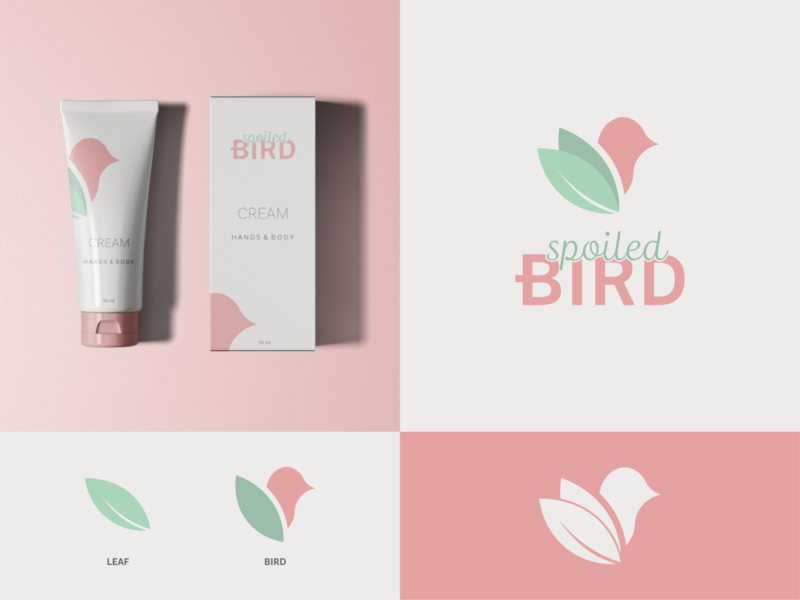 Spoiled bird visual identity & stationery branding and identity branding design brand tree leaf birds handmade natual premium cosmetics nature bird presentation stationary typography icon branding illustration design logo