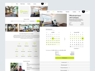 Office rental checkout process design website checkout rent rentals rental office web design web cart payment