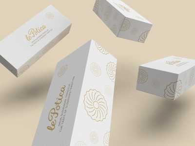 Le Potica packaging mini baker gift packaging design potica bakery pastry packaging