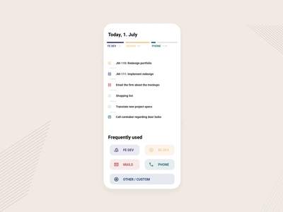 Project tracking with To-Do