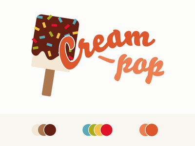 Proposed logo for local Ice Cream shop