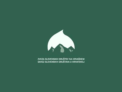 Proposed logo for local union and sample poster poster logo linden lipa triglav croatia slovenia