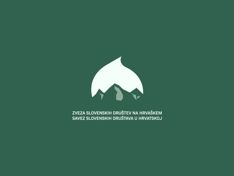 Proposed logo for local union and sample poster poster logo linden lipa triglav croatia slovenia