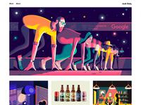 New Portfolio Day! :) vector art scottish illustrator jack daly conceptual advertizing advertising portfolio site portfolio illustration