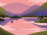 Outlander – label Illustration