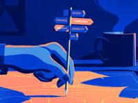 Design Ethics – Editorial Illustration