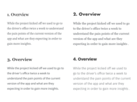Portfolio - Typeface Selection