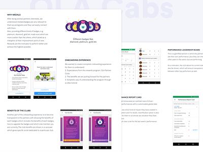 Ola Partner Clubs - case study program benefits cabs ola partner rewards portfolio case study onboarding dribbble delivery app visual mobile design icon ux minimal illustration ui