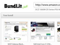 Bundl.it upload page