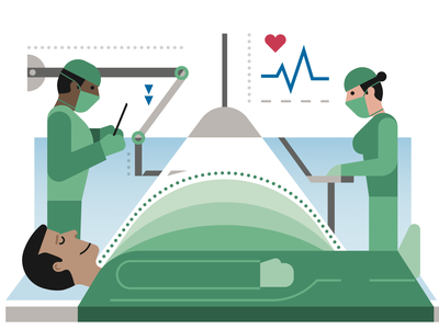 Be Healthy Magazine medical design artwork modern vector icon graphic illustration
