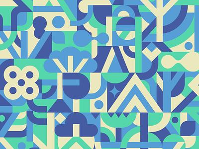 Personal work doodle pattern art art modern vector design graphic illustration