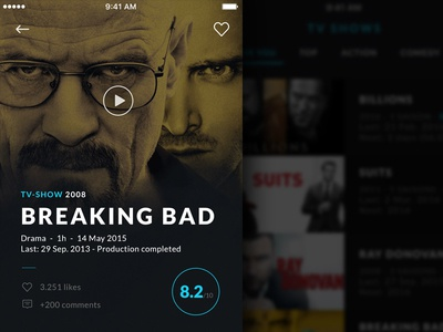 Movie & TV  App breaking bad player show tv movie ios iphone