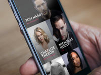 Movie & TV App - Cast