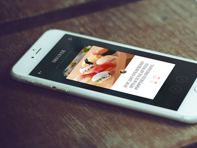 Cooking App - Discover - monthlytemplate.net free psd monthly template ios nav menu home mobile iphone app cooking
