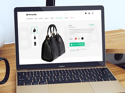 OhMyshop free template free psd responsive template design shop web