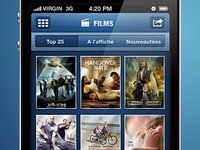 IPhone Movie List