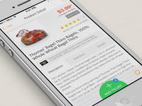 Supermarket App Concept