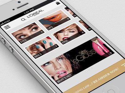 L'Oréal Beauté Concierge loréal beauty iphone ios6 shopping concierge