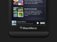 Blackberry 10 Mockup