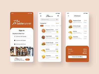 Food Ordeing App best branding uiux trendy minimal design app food order food ui order food food delivery food order app food food ordering