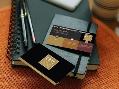 CMC business card businesscard art typography logo minimal flat vector illustration design