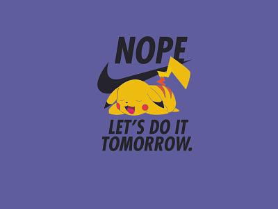 do it later tshirtdesign art typography logo minimal flat vector illustration design