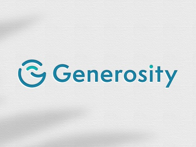 Logo for Payment Processing Company identity logo bright turquoise green blue teal brand fun cute typogaphy smile fintech finance non profit