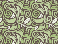 Tealet seamless pattern