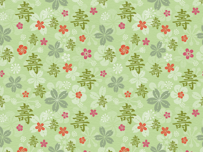 Tealet - tea farm01 seamless pattern roughened asian floral artisan handcrafted hand drawn natural seamless pattern green pattern tea