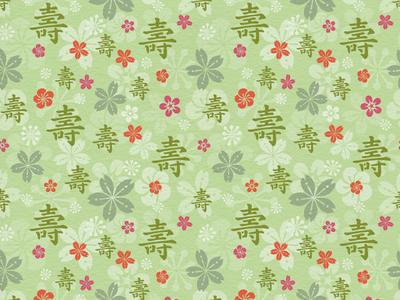 Tealet - tea farm01 seamless pattern