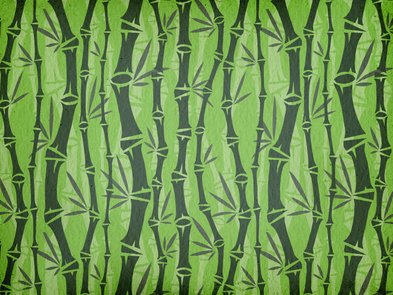 Tealet - tea farm03 seamless pattern tea pattern green seamless pattern natural hand drawn handcrafted artisan bamboo asian roughened