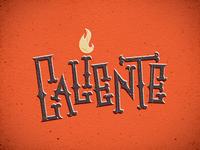 Caliente lettering - 02