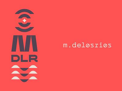 MDLR 05 extended sans branding vfx logo type custom monospace futurist geometric experimental type modernist rings star symbolism symbol water red black tan modern