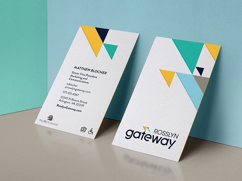 Rosslyn Gateway - business cards by Jon Stapp | atomicvibe - Dribbble