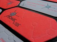 ATOMICvibe biz card