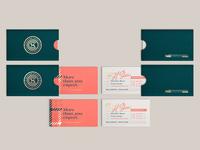 HSCo branding 02 - biz cards & sleeves