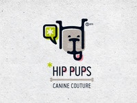 Hip Pups logo