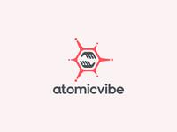 atomicvibe logo redesign