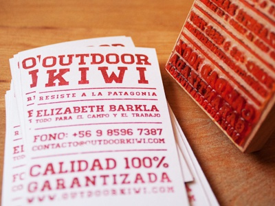Outdoor Kiwi Stamp